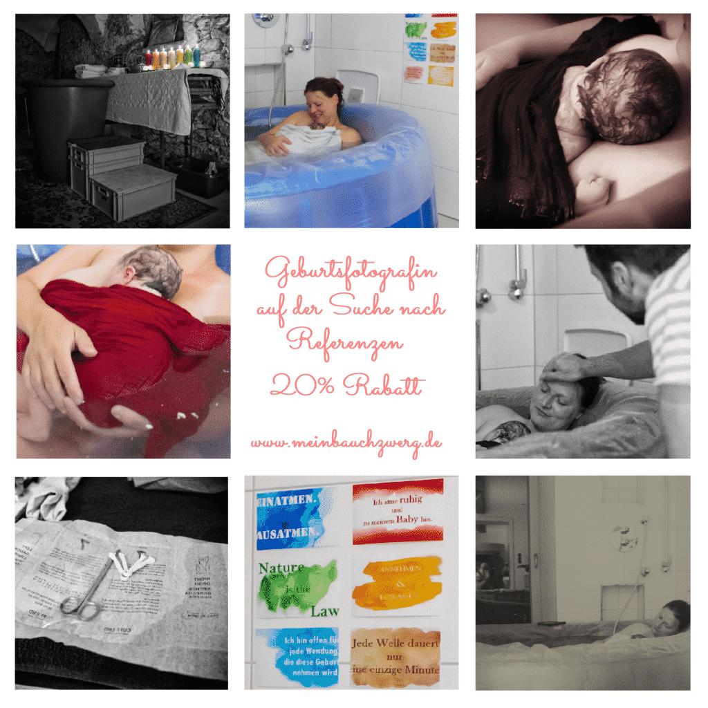 Collage Geburtsfotografie